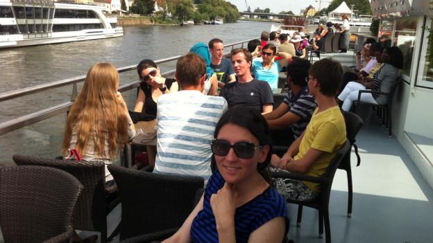 Donauschiffahrt Foto SW