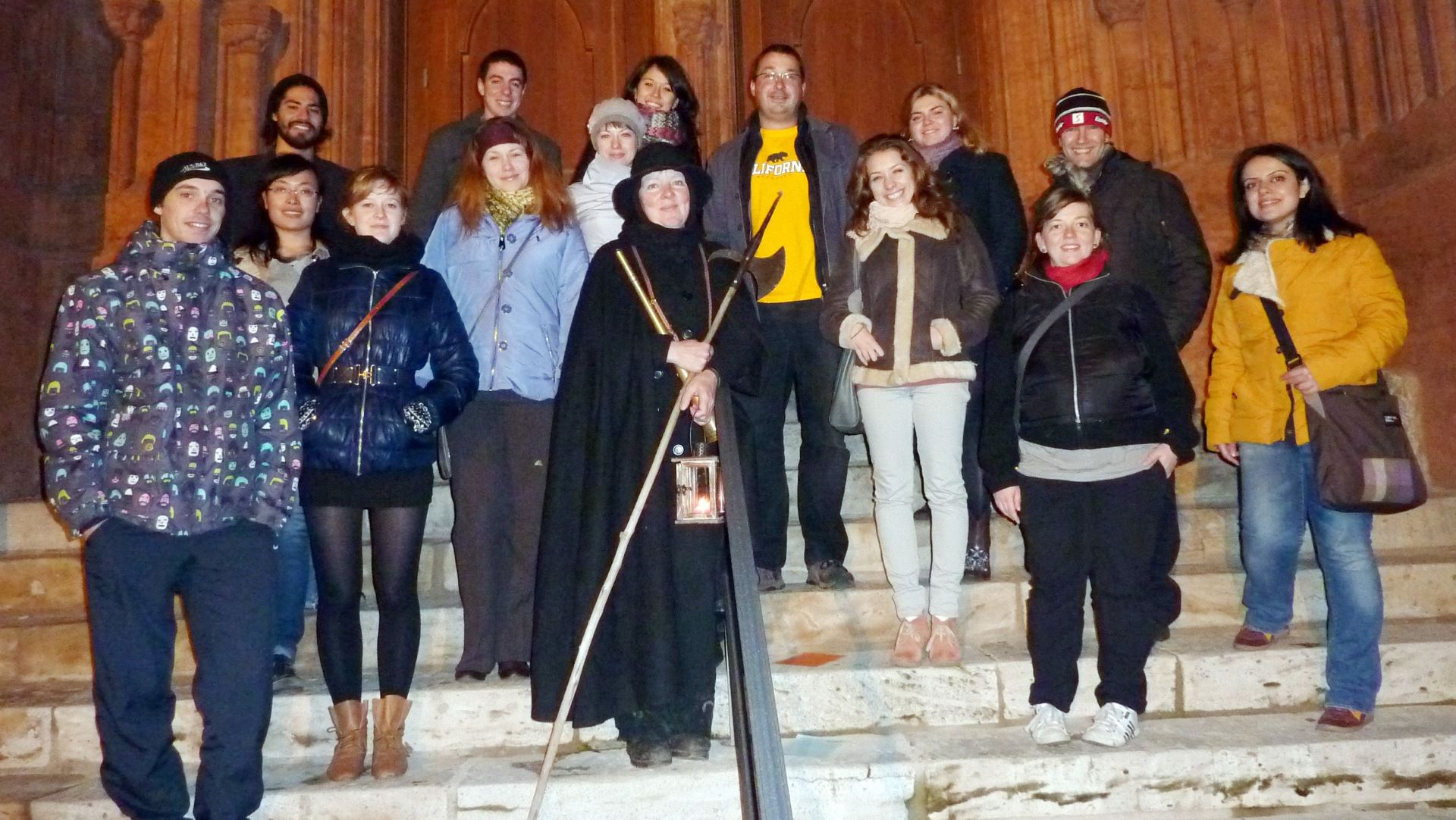 RG Jena Stadtführung mit Nachtwächter