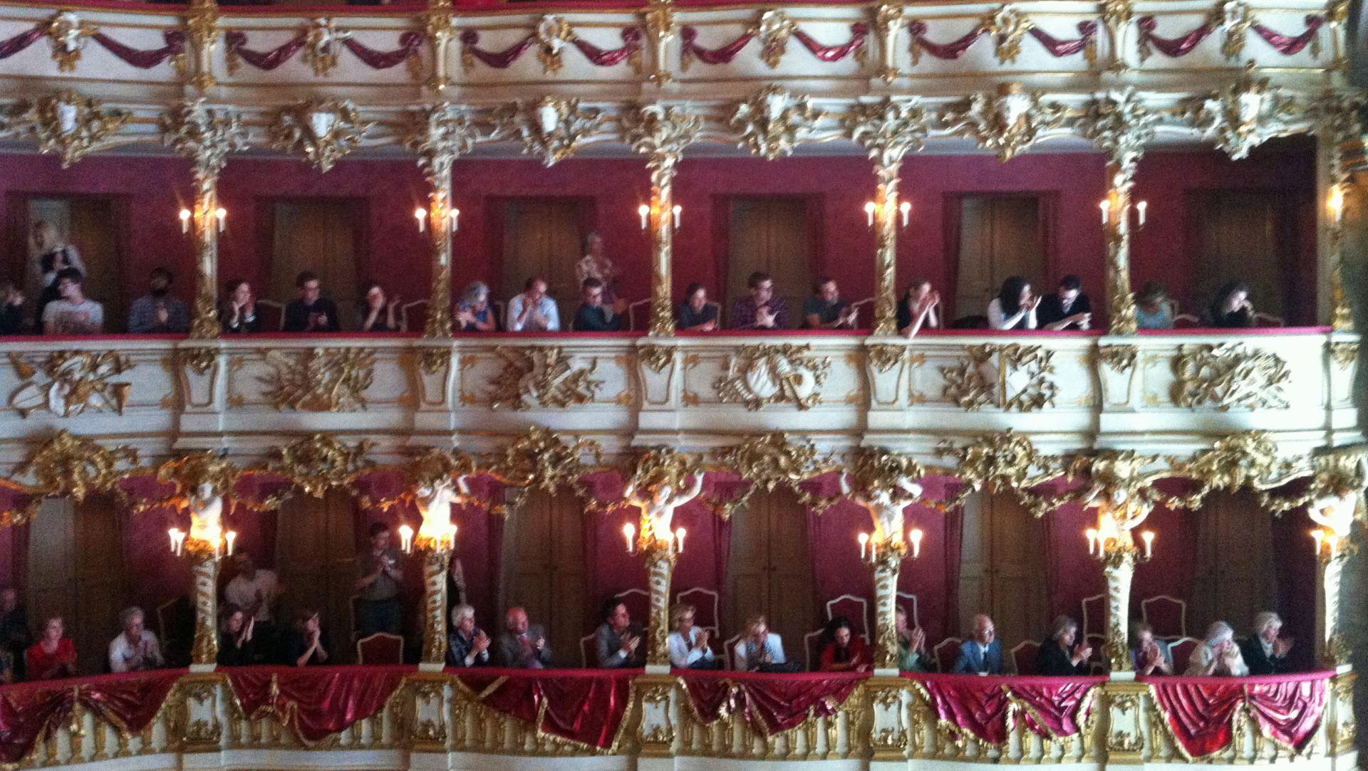 Balkone im Cuvillíes-Theater
