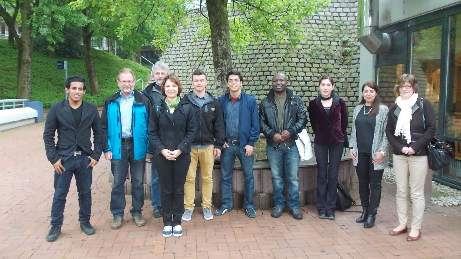 Gruppenfoto der Regionalgruppe Wuppertal
