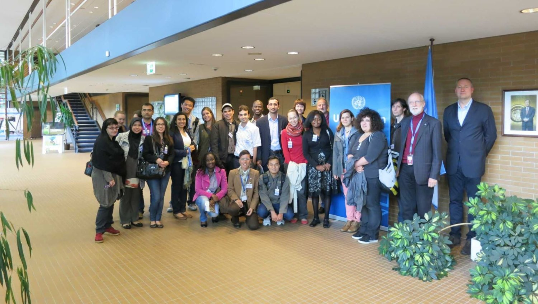 Besuch bei der UNO in Bonn