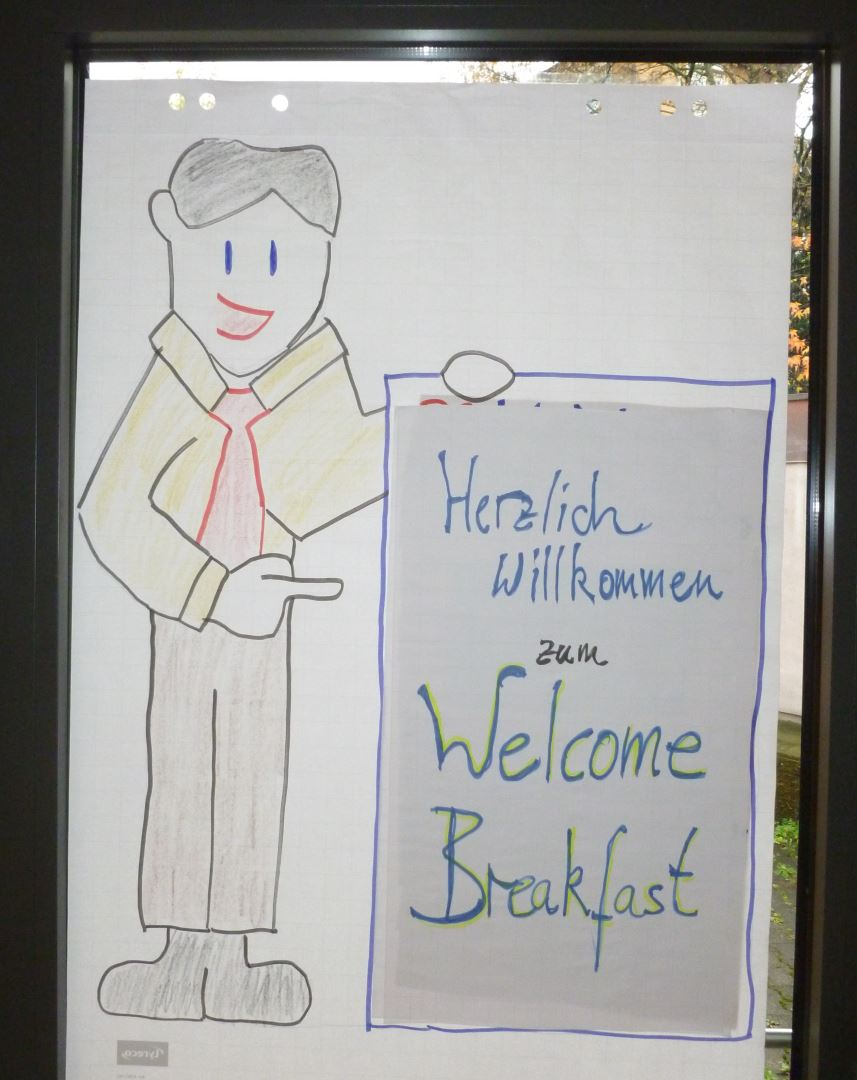 Plakat Welcome Breakfast