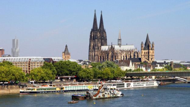 Stadtansicht Köln mit dem Kölner Dom