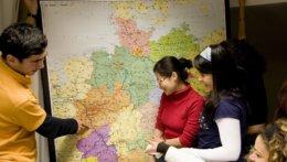 Studierende Deutschlandkarte