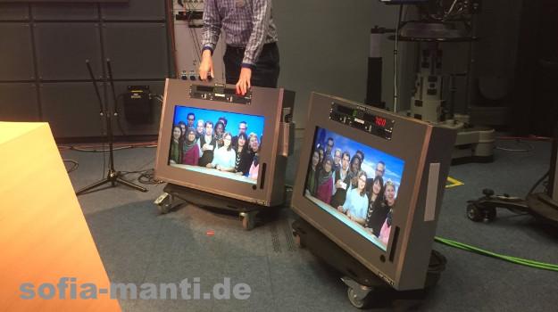 DAAD Stipendiaten und Alumni zu Besuch beim NDR.